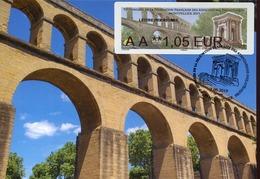 46654 Francia, Maximum 2019  Lisa,  Montpellier  Aqueduc, Architecture, - Ciclismo
