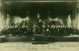 BELGIUM - ORCHESTRE SYMPHONIQUE DE LA SOCIETE DES NOUVEAUX CONCERTS - EDITION PHOTO PELE-MELE - AVRIL 1906 (BG3868) - Belgium