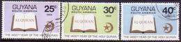 GUYANA 1968 SG 470-72 Part Set (6c Missing) Used Holy Quran - Guyana (1966-...)