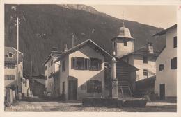 ANDEER Schweiz Dorfplatz Phot. R. Guler Thusis Fotokarte In Guter Erhaltung - GR Graubünden