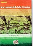 ITALIA 2009 - FOLDER  ARTE RUPESTRE DELLA VAL CAMONICA  -  SENZA SPESE POSTALI - 6. 1946-.. Republic