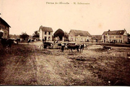 27 - CPA VERNON BIZY ST MARCEL - FERME DE L'ECOUFFE - MONSIEUR BELLENCONTRE - ADHERENTE SCVC - VOIR NOTICE - EXC ETAT - Vernon