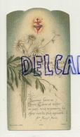 Image Pieuse. Souvenir De Communion Solennelle 1929. Coeur Sacré De Jésus. Dorée. Bouasse-Lebel - Images Religieuses