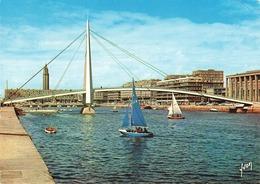 LE HAVRE - LA PASSERELLE DE LA BOURSE - Le Havre