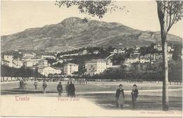 CPA - TRENTO - Piazza D'armi - Trento