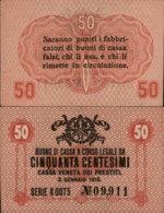 ITALY 50 CENTESIMI 1918 - [ 1] …-1946 : Regno