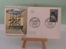 Mémoire Des Déportés - Paris - 23.3.1963 FDC 1er Jour Coté 3€ - 1960-1969