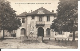 74 - Viuz-en-Sallaz - Monument Aux Morts - France