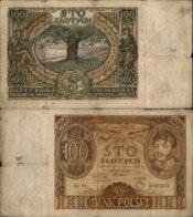 POLAND 100 ZLOTYCH 1932 - Polen
