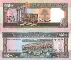 LEBANON 500 LIVRES ND - Lebanon