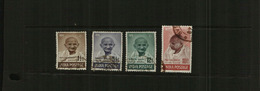 INDIA - IST ANNIVERSARY OF INDEPENDENCE - 4 Stamps - USED - 1947-49 Dominion