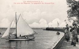 LE POULIGUEN ( 44 ) - Un Jour De Régates - Le Gagnant Du Grand-Prix . - Le Pouliguen