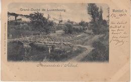 Mondorf - Promenade De L' Albach - 1909 - Edit. Charles Bernhoeft, Luxembourg - Remich