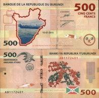 BURUNDI 500 FRANCS 2015 - Burundi
