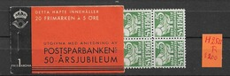 1933 MNH Booklet Sweden Facit H25-R - Boekjes