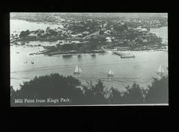 Mill Point From Kings Park Perth WESTERN AUSTRALIA - Magic Lantern Slide (lanterne Magique) - Glasdias