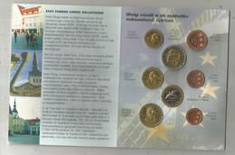 Monnaie , ESTONIA ,  Euro Proov , 2004 ,  Essai . , Tirage : 12500 Ex.,  Frais Fr 3.15 E - EURO