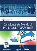 ITALIA 2010 - FOLDER  CAMPIONATI MONDIALI PALLAVOLO MASCHILE-   SENZA SPESE POSTALI - 6. 1946-.. Repubblica