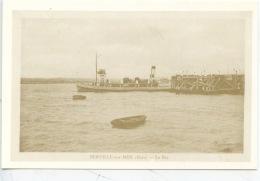 Berville Sur Mer (Eure) Le Bac (rééd Expo Marine 1992 Cp Vierge) Vers 1930 Entre Berville Et Le Hode - Frankrijk