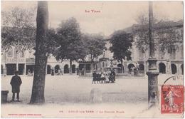 81. L'ISLE-SUR-TARN. La Grande Place. 65 - Lisle Sur Tarn