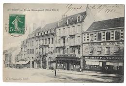 CPA Rare Guèret - Place Bonnyaud (Côté Nord) Etat Voir Scan - Guéret