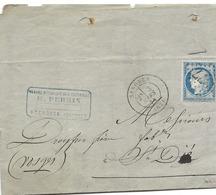 64 - 96 - Enveloppe Envoyée De Senones 1874 - 1871-1875 Cérès