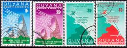 GUYANA 1968 SG 473-76 Compl.set Used Christmas - Guyana (1966-...)