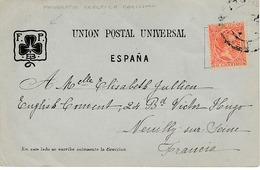 TARJETA PRIVADA 1901 FOTOGRAFIA PRACTICA  BARCELONA    Ref EL659 - 1889-1931 Royaume: Alphonse XIII