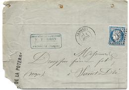 64 - 98 - Enveloppe Envoyée De Senones 1874 - 1871-1875 Cérès