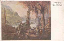 VERFOLGUNG DER RUSSEN … Rote Kreuzkarte Nr.64, Gebrauchsspuren - Rotes Kreuz