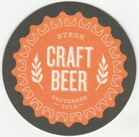 UNUSED BEERMAT CAMDEN TOWN BREWERY (LONDON, ENGLAND) - BYRON CRAFT BEER - (Cat 007) - (2012) - Beer Mats