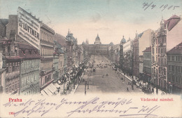 PRAG - Vaclavske Namesti, Karte Gel.1905 - Tschechische Republik