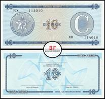 Cuba   10 Pesos   1985   P.FX.22   AUNC - Cuba