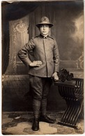 MILITARI - ALPINI - VECCHIA FOTOGRAFIA - OLD PHOTO - Vedi Retro - Guerra, Militari