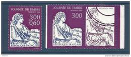 """FR YT 3051 & 3052a Vignette """" Journée Du Timbre, Mouchon """" 1997 Neuf** - France"""