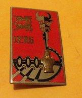 12° Régiment Du Génie, émail, Dos Guilloché Argenté, 2 Cartouches, FABRICANT DRAGO PARIS,HOMOLOGATION 1978, ETAT VOIR PH - Esercito