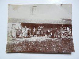PHOTOGRAPHIE ANCIENNE - TUNIS : Scène Animée Au DJEBEL  ABIOD - Mestieri