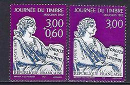 """FR YT 3051 & 3052 """" Journée Du Timbre, Mouchon 1902 """" 1997 Neuf** - France"""