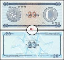 Cuba   20 Pesos   1985   P.FX.23   AUNC - Cuba