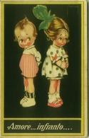 PINOCHI SIGNED 1920s POSTCARD - KIDS - AMORE INFRANTO - N. 223 (BG433) - Andere Zeichner
