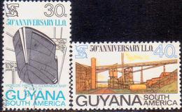 GUYANA 1969 SG 502-03 Compl.set Used Int.Labour Organization - Guyana (1966-...)
