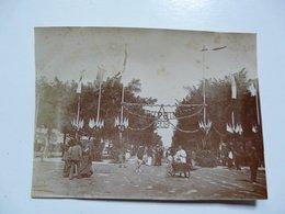 PHOTOGRAPHIE ANCIENNE - TUNIS : Fête Du Printemps Juin 1902 - Foto