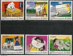 """FR YT 3060 à 3065 """" Les Journées, Le Voyage D'une Lettre """" 1997 Neuf** - France"""