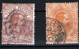 Italia Nº 3 Y 5 - 1878-00 Humbert I.