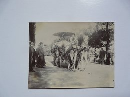 PHOTOGRAPHIE ANCIENNE - TUNIS : Fête Du Printemps Juin 1902 - Premier Prix - Anonyme Personen