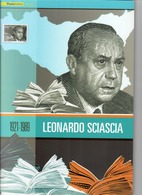 ITALIA 2010 - FOLDER  LEONARDO SCIASCIA   SENZA SPESE POSTALI - 6. 1946-.. Repubblica