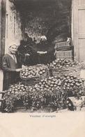 Egypte -  Vendeur D'oranges  - Scan Recto-verso - Egypte