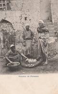 Egypte -  Vendeur De Poissons  - Scan Recto-verso - Egypte