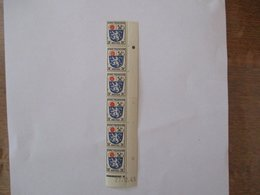 6 TIMBRES NEUFS BRIEFPOST ZONE FRANCAISE 24F COIN DATE 27.12.45 - Französische Zone
