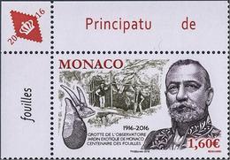 Monaco 3045 Grotte, Prince Albert 1er - Archäologie